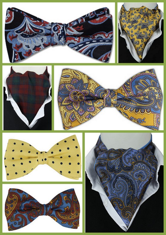 bow ties and cravats