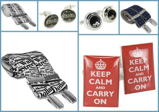 cufflinks & braces