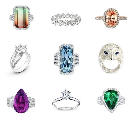 rings by MR-GEMS & JEWELLERY