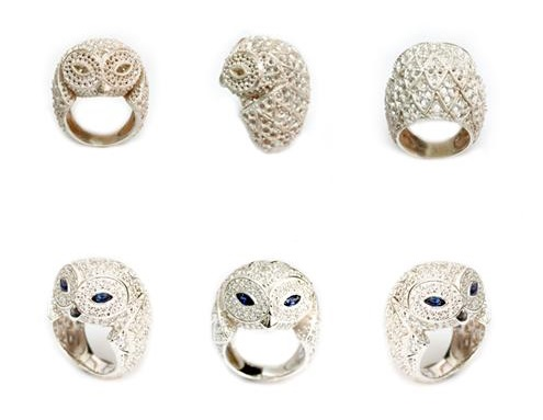 Bubo Snowy Owl ring