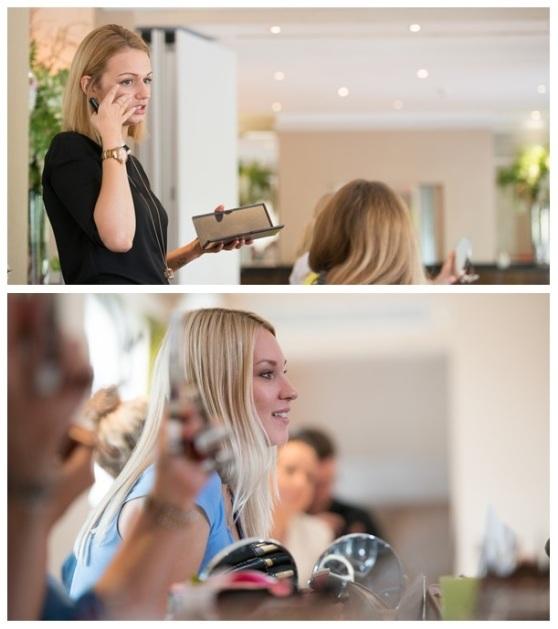 bridal make-up lesson