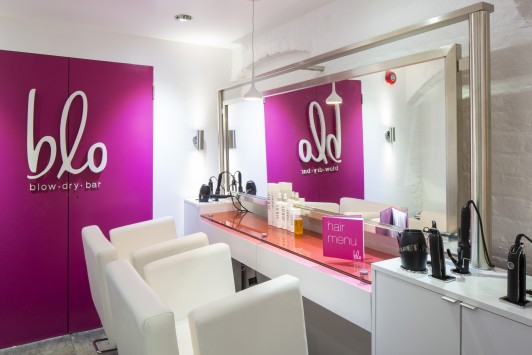 Blo Blow Dry Bar in Covent Garden