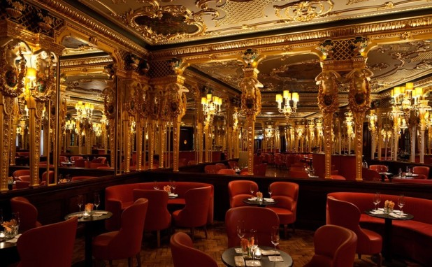 The Oscar Wilde Bar at the Hotel Cafe Royal