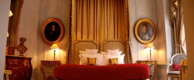 One of the stunning bedrooms at San Domenico House