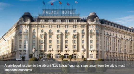 Westin Palace Madrid Facade