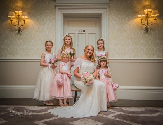 Fran and Bridesmaids