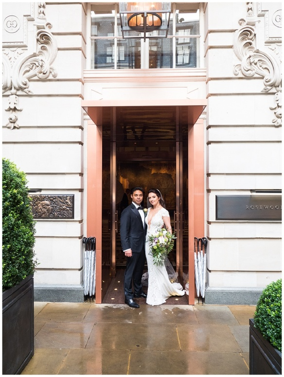 Spectacular Wedding at the Rosewood London – Jessica and